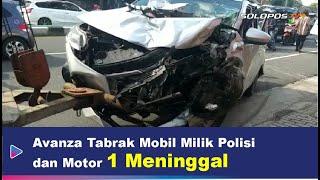 Kecelakaan Maut Jalan Solo-Jogja: Libatkan 2 Mobil dan Motor, 1 Orang Meninggal