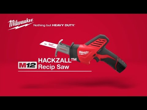 Milwaukee C12HZ-0 12V Hackzall Body Only