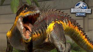 FULL POWER INDORAPTOR!!!   Jurassic World - The Game - Ep500 HD