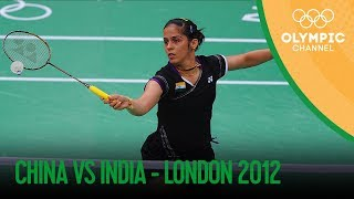 Saina Nehwal Wins Badminton Women's Singles Bronze - IND v CHN | London 2012 Olympics