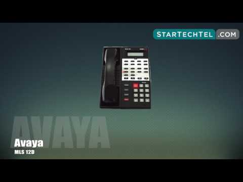 How To Make A Conference Call On The Avaya MLS 12D Phone