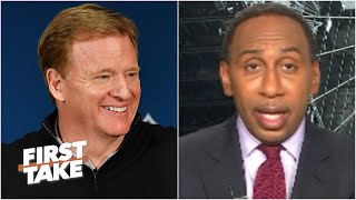 Stephen A. is confident the NFL's 2020 season will start on time | First Take