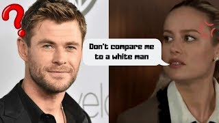 Brie Larson VS Chris Hemsworth AND Don Cheadle AND Jeremy Renner