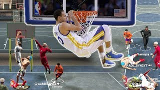DUNKING STEPH CURRY BUILD CAN DO EVERYTHING NBA 2K19