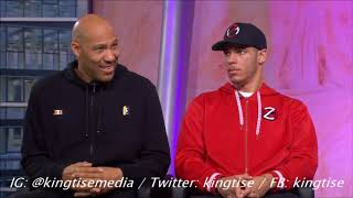 Lonzo Ball On LeBron James Joining Lakers, Battling Rondo For His Spot & Putting In Work