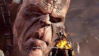 God of War 3 Remastered Walkthrough Cronos Boss Fight Ep 12