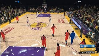 PAUL GEORGE ALMOST ENDED HIS CAREER! (NBA2K19 quick game)