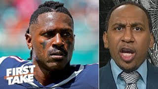 Stephen A. reacts to Antonio Brown's tweets about quitting the NFL | First Take