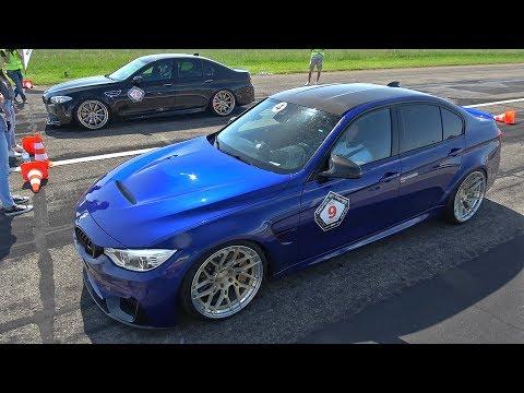 780HP BMW M3 F80 vs BMW 740HP BMW M5 F10