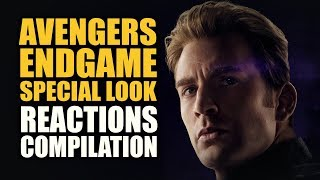 AVENGERS ENDGAME SPECIAL LOOK Reactions Compilation