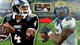 Will Horton Jr., son of Legendary UGF QB | NCAA 14 Coaching Carousel Dynasty #2