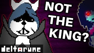 Deltarune's TRUE Villain isn't the KING! (Undertale 2 Theory)
