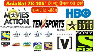 Asiasat 7 105 5e powervu all channel list - KATARIYA DISH INFO