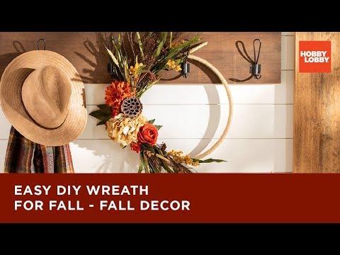 Easy DIY Wreath for Fall – Fall Decor | Hobby Lobby®
