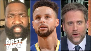 Where does Stephen Curry rank in the MVP race? Max and Kendrick Perkins debate | First Take