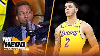 Chris Broussard on LeBron James' frustration, talks Lonzo Ball's future in LA | NBA | THE HERD