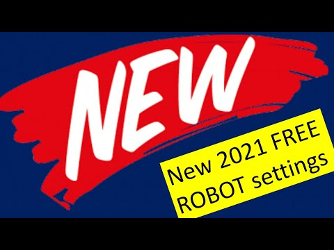 New, fresh, 2021 live, optimized & Plug-n-Play Robot settings for Expert4x Trading Robot owners.