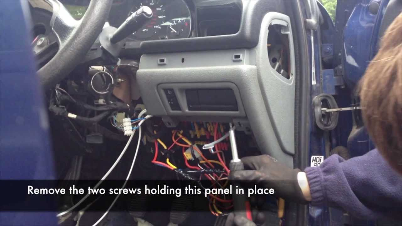 Peugeot 207 Fuse Box Removal Free Wiring Diagram For You 107 In 206 Library 307