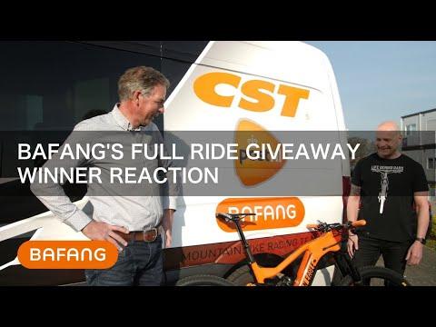 BAFANG's Full Ride Giveaway: Winner Reaction