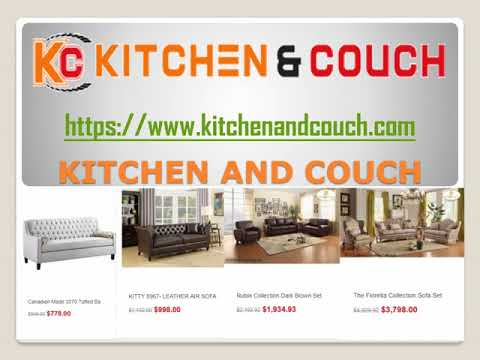 Kitchen And Couch Appliances