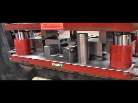Scotchman 6509 Ironworker Demonstration - Double Dimple Die Set