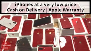 Used iPhones with cash on delivery   Cheap iPhone Market   Mumbai mobile market