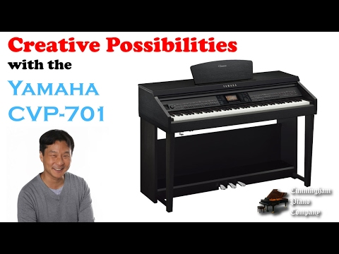Creative Possibilities with the Yamaha CVP-701