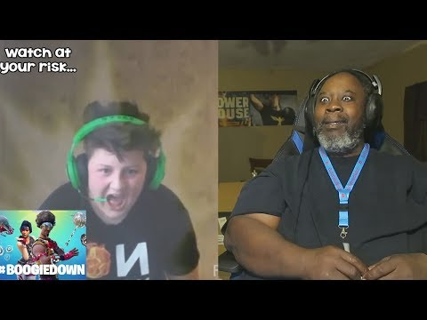 Dad Reacts to Fortnite #BoogieDown Challenges! (Try to watch the whole video)