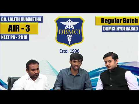 Neet pg preparation Tips by Toppers of DBMCI