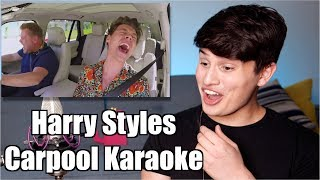 Vocal Coach Reaction to Harry Styles Carpool Karaoke