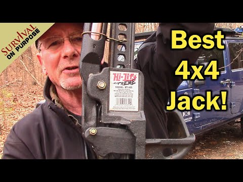 Best Off-Road Jack For A Four-Wheel Drive - Hi Lift Xtreme - Survival 4x4 Jeep Wrangler Project