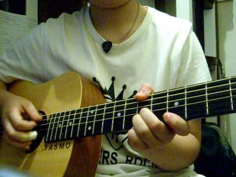 盧廣仲-100種生活 新手 吉他 COVER