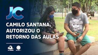 Camilo Santana, autorizou o retorno das aulas na rede pública estadual para fevereiro