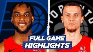 RAPTORS vs PACERS FULL GAME HIGHLIGHTS | 2021 NBA SEASON