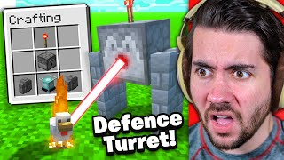 Minecraft Base Defense Hacks From Level 1 to 100