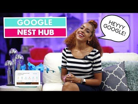 GOOGLE NEST HUB SMART HOME INTERCONNECTIVITY