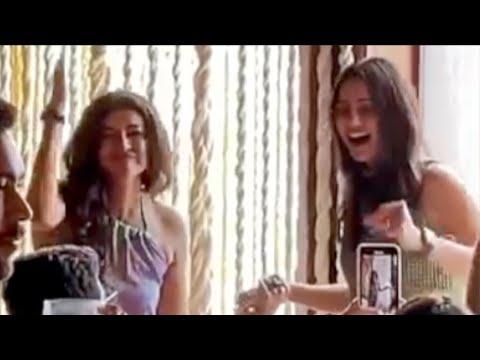 Watch: Lakshmi Manchu dances at Rakul Preet birthday party