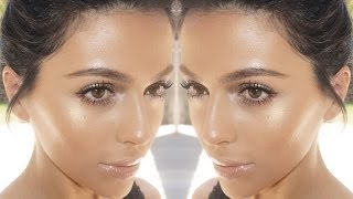 Summer Bronze Glow Makeup | Natural Makeup Tutorial | Teni Panosian