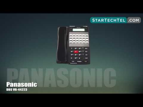 How To Use Call Park On The Panasonic DBS VB-44223 Phone