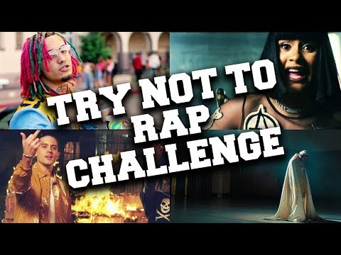 If You Rap You Lose !!! Try Not to Rap Challenge 2018 !!!
