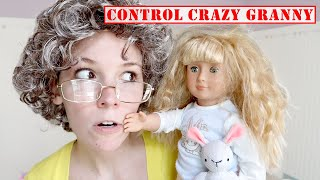 Play with The Doll Maker! The Doll Maker is Controlling Crazy Granny at My PB and J House!
