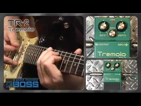 Boss TR-2 Tremelo pedal - Nevada Music UK