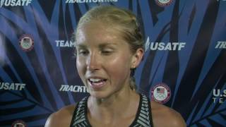 University of Oregon alum Jordan Hasay qualifies for the women's 5000m final