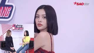 Đang pose dáng Tú Hảo bị tuột áo, nhìn mà hoảng hốt!