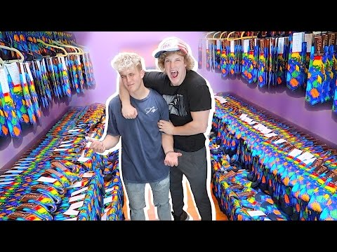 REPLACED MY BROTHER'S CLOSET WITH 1,000 PAIRS OF SOCKS! **PRANK WARS**
