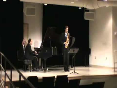 Saxophonist Stephen Page plays Kotekan by Piet Swerts.mov