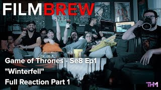 """Game of Thrones - Se8 Ep1 - """"Winterfell"""" - Reaction - Full Reaction Part 1"""