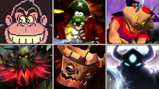 Evolution of Final Bosses in Donkey Kong games (1981 - 2018)