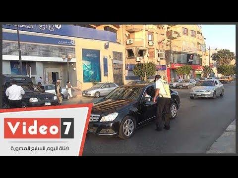 ضبط سيارات ودراجات نارية مخالفة في حملات مرورية بالسويس