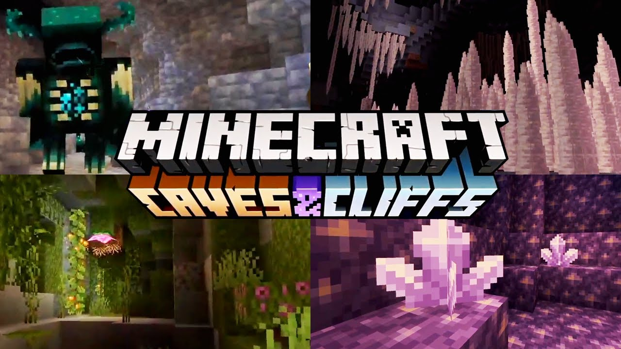 Minecraft 1.17 : The Caves & Cliffs Update